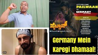 Pailwaan Craze In Germany Will Release On September 12 in 8 Major Cities, Kichcha Sudeep Rocks
