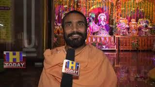 24 AUG N 3 B 1 Birthday of  Shri Krishna with  Sri Chaitanya Mahaprabhu Dangdi Math in Hamirpur