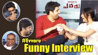 Evaru Movie Team Funny Interview | Adivi Sesh | Regina Cassandra | Daily Poster
