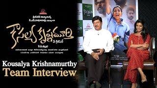 Kousalya Krishnamurthy Movie Team Interview   Aishwarya Rajesh   Rajendra Prasad