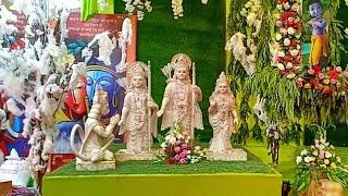 खाटूश्याम धाम (राजस्थान) में श्री कृष्ण जन्माष्टमी के अवसर पर सजाई गई झांकियों का मनमोहक दृश्य