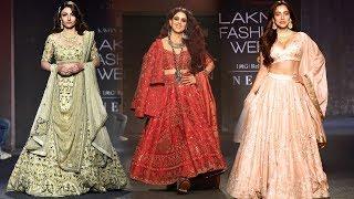 Genelia Deshmukh, Soha Ali Khan And Neha Sharma Sizzles The Ramp At Lakme Fashion Week 2019