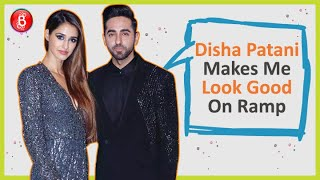 Disha Patani Makes Me Look Good On Ramp: Ayushmann Khurrana