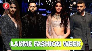 Disha Patani, Ayushmann Khurrana, Ananya Panday, Arjun Kapoor Rock The LFW Ramp | Lakme Fashion Week