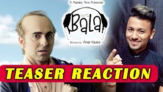 Bala Teaser Reaction | Review | Ayushmann Khurrana, Bhumi Pednekar, Yami Gautam | 22 Nov