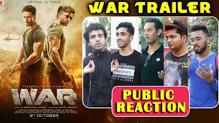 WAR Trailer Public Reaction | Hrithik Roshan Vs Tiger Shroff | Vani Kapoor