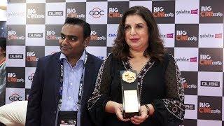 Farah Khan Felicitated At Big Cine Expo 2019 -  Full Event