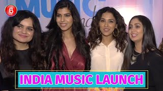 Shalmali Kholgade And Neeti Mohan Attend The Launch Of Women In Music India
