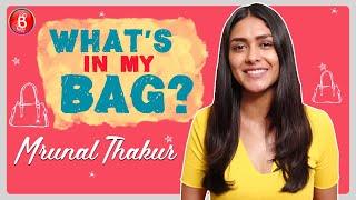 Mrunal Thakur: Would Love To RAID Kareena Kapoor's Bag | What's In My Bag?