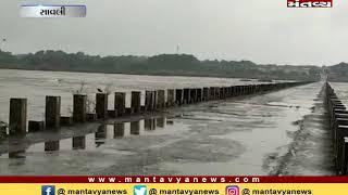 Savli: કડાણા ડેમમાંથી પાણી છોડાતા મહી નદીનો ગળતેશ્વર બ્રિજ બંદ કરવામાં આવ્યો
