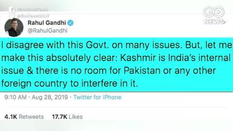 यूएन को लिखी चिट्ठी में नाम डालने पर राहुल गांधी पाकिस्तान पर भड़के