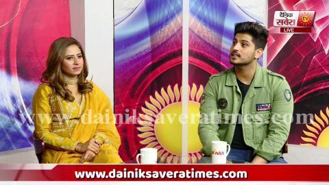 Exclusive : Sargun Mehta Opens Secrets About Gurnam Bhullar | Dainik Savera