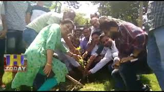 28 AUG N 5 Around 120 plants were planted around Chugan as per the order of appropriate  sujanpur