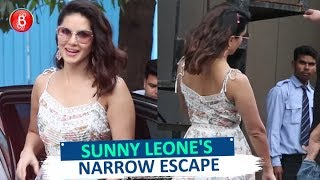 Sunny Leone's NARROW ESCAPE From Getting A GRAVE Head Injury