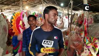 Eco-friendly Ganesha idols gain popularity in UP's Moradabad