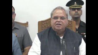 J&K Governor Satya Pal Malik announces creation of 50,000 government jobs