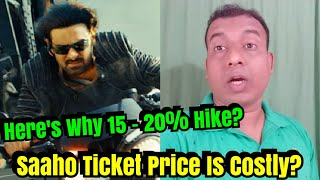 Saaho Ticket Price Witness Hike Up To 20 Percent? Here's Why