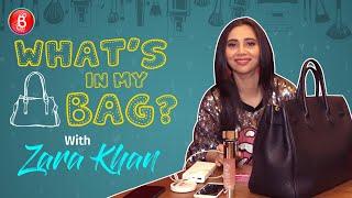 Zara Khan: Would Be Fun To INVADE Kareena Kapoor's Bag | What's In My Bag?