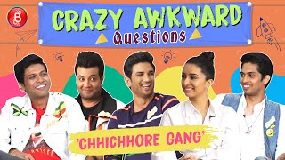 Chhichhore Gang Answers Some Crazy Awkward Questions | Shraddha Kapoor | Sushant | Naveen Polishetty