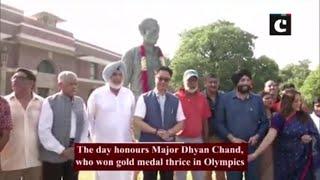Kiren Rijiju pays tribute to Major Dhyan Chand on his birth anniversary
