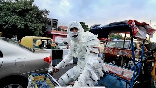 The Mummy Prank On Delhi Roads - Epic Reactions ????