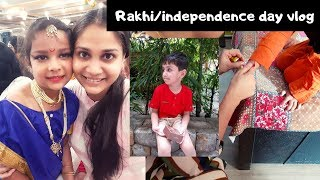 Rakshabandhan/Independence day Vlog | Indian Youtuber | Nidhi Katiyar