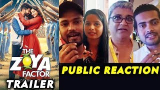 The Zoya Factor Trailer | PUBLIC REACTION | Sonam K Ahuja | Dulquer Salmaan