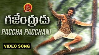 Gajendrudu Full Video Songs -  Paccha Pacchani Full Video Song - Arya, Catherine Tresa