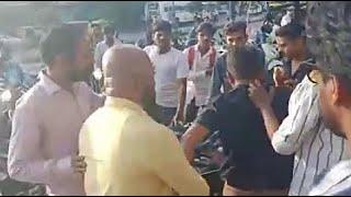 युवती से छेड़छाड़ को लेकर हुआ हंगामा,  मनचले की हुई सरेरा पिटाई। Live वीडियो #bn #bhartiyanews #Indore