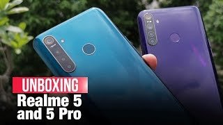 Realme 5, 5 Pro: Style, affordability, performance & quad camera on offer | Unboxing, Impressions