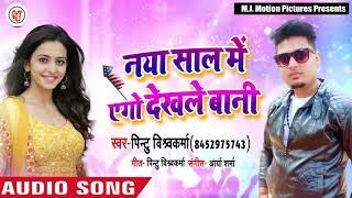 New Year Song - नया साल में एगो देखले बानी - Pintu Vishwkarma - Bhojpuri New Year Songs 2019