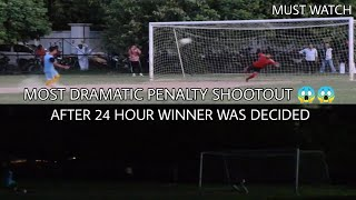 TECHTRO FC VS ARMY BLUE || MOST DRAMATIC PENALTY SHOOTOUT || 11 KICKS EACH STILL LEVEL
