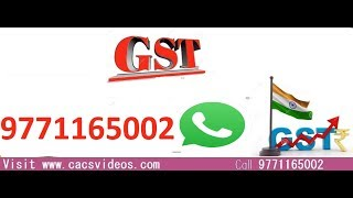 CA Final IDT Fast Track Ch- Charges under GST by Abhinav Jha Magical Videos