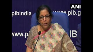 PNB, OBC and United B​​ank to be merged, says Nirmala Sitharaman