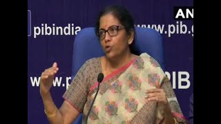 FM  Nirmala Sitharaman unveils four major bank mergers to consolidate 10 PSU lenders