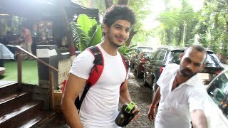 Ishaan Khatter Spotted At Antigravity Gym Pali Hill