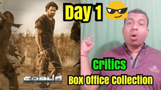 Saaho Box Office Collection Day 1 Estimates In Hindi Version By Critics