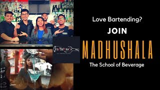 Best Bartending School in India Madhushala | Madhushala the school of Beverage | Cocktails India