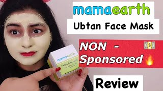 Finally a NON sponsored Review of MamaEarth Ubtan Face Mask | JSuper kaur