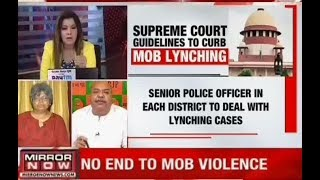 Lynching is a very serious criminal act of taking law in its own hands & it must be condemned by all
