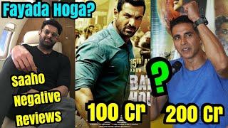 Will Saaho Negative Reviews Help Mission Mangal And Batla House To Cross 200 Cr & 100 Cr?