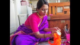 अभिनेत्री स्मिता तांबे खुद बनाती है, घर में इको फ्रेंडली ट्रि-गणेशा। #bn #bhartiyanews