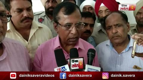 Congress के MLA की मौत पर अफ़सोस करने पहुंचे BJP Minister Som Parkash