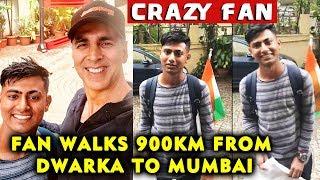 Akshay Kumar's Fan Walks 900 Km To Meet Him In Mumbai | Watch Akshay Kumar Reaction