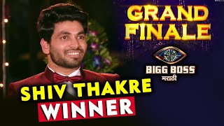 Breaking News! Shiv Thakre WINNER Of Bigg Boss Marathi 2 | Grand Finale