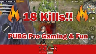 18 Kills in PUBG Mobile and Some Unexpected Fun - LOLG - SCAR SLAYER ????????