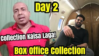 Saaho Box Office Collection Day 2 In Hindi Version