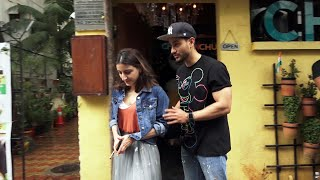 Kunal Khemu With Soha Ali Khan Spotted At Chin Chin Chu
