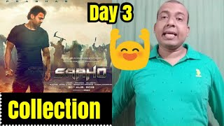 Saaho Box Office Collection Day 3 In Hindi Version
