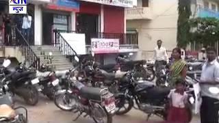 कामगार संघटनानी पुकारलेल्या देश व्यापीसंपाला वाळूज मधून उत्स्फूर्त प्रतिसाद